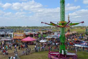 Crawfish Festival Aerial View2