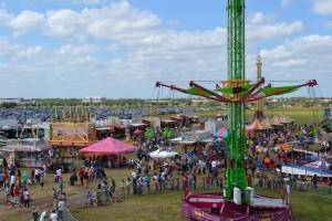 Crawfish Festival Aerial View2