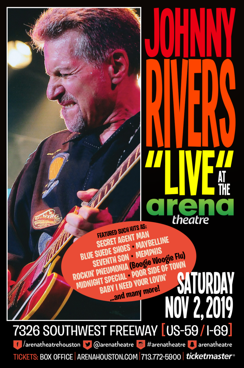 Johnny Rivers at Arena Theatre