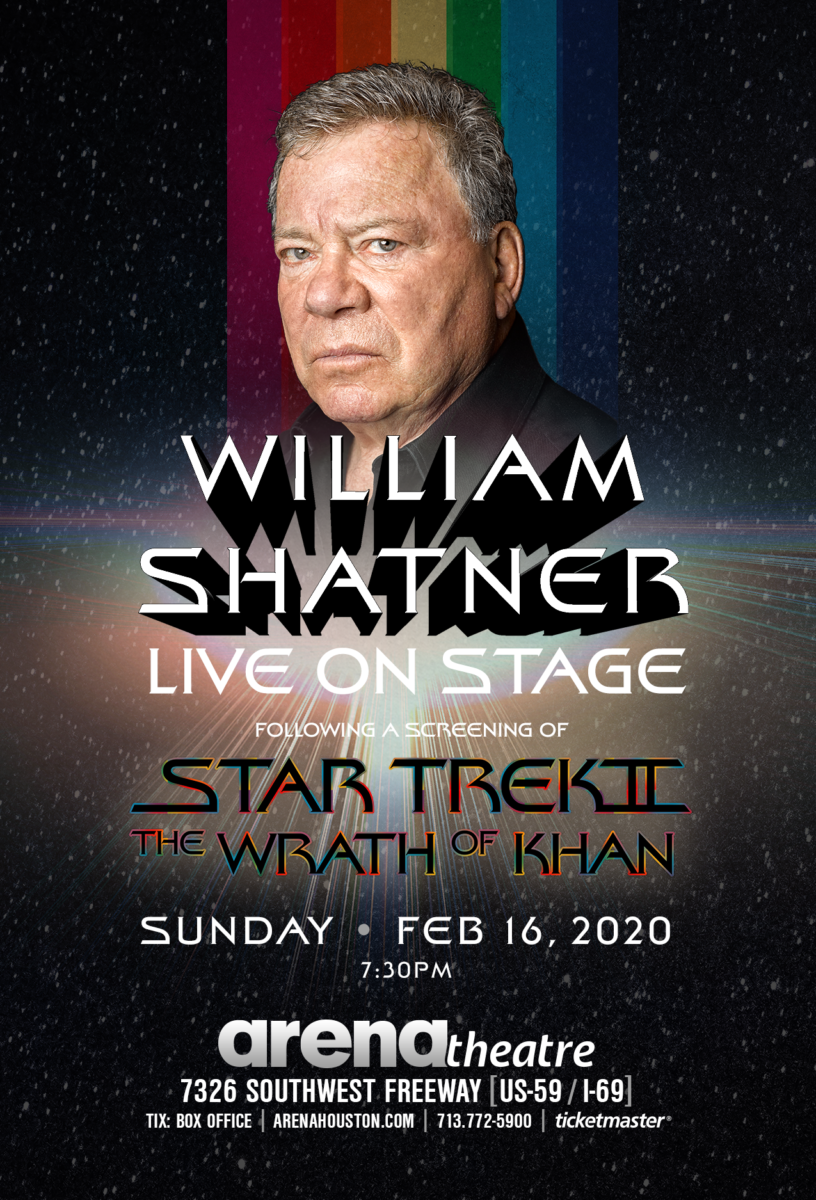 William Shatner and Star Trek II: The Wrath of Khan at Arena Theatre