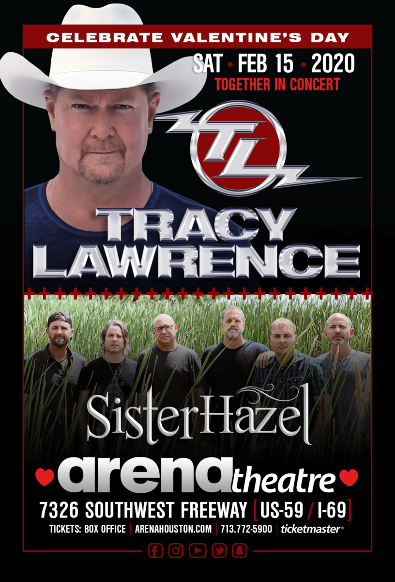 Tracy Lawrence at Arena Theatre