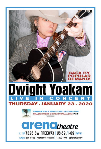 Dwight Yoakam at Arena Theatre