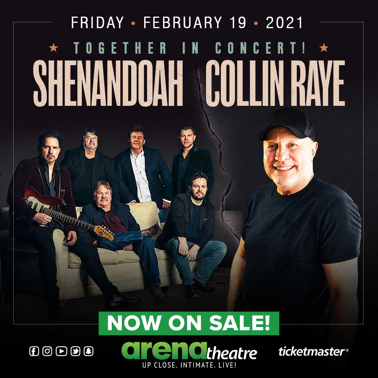 Shenandoah & Collin Raye