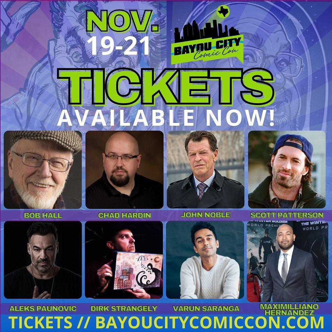 Bayou City Comig Con